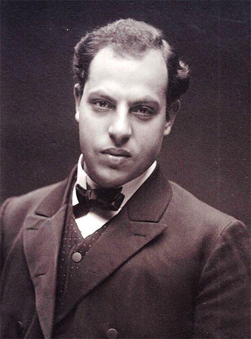 Portrait of Abraham Shalom Yahuda.