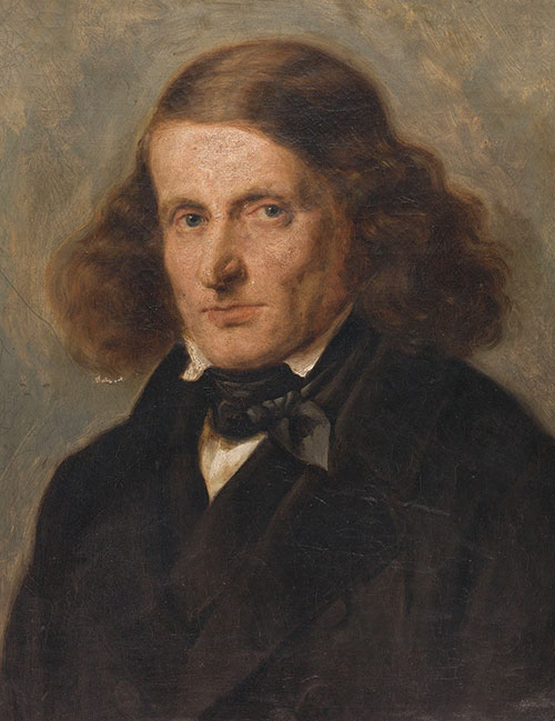Portrait of Leopold Zunz, age 49