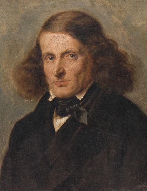 Portrait of Leopold Zunz, age 49