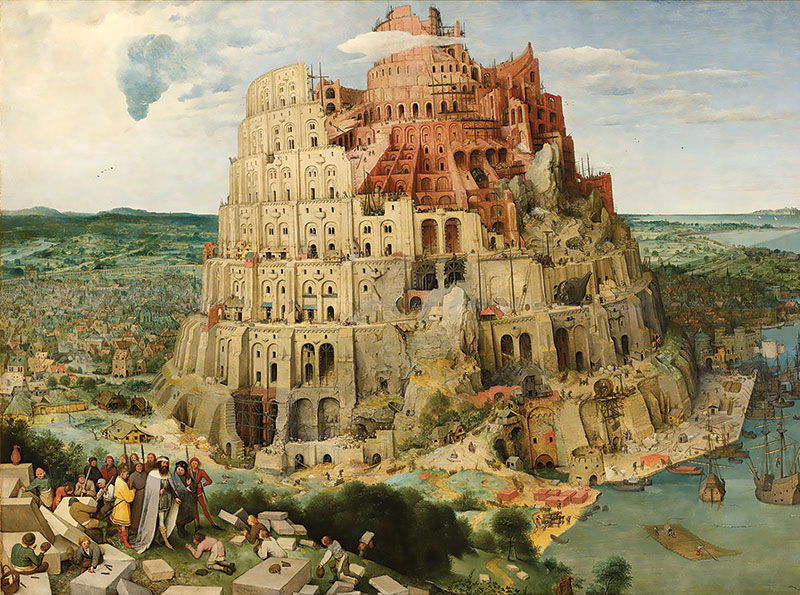 Painting of the Tower of Babel