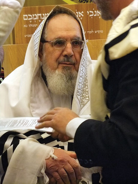 Photo of Rabbi Nachum Rabinovitch