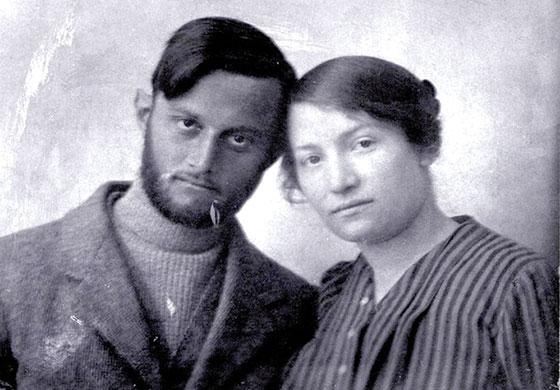 Avshalom Feinberg and Sarah Aaronsohn, 1916.