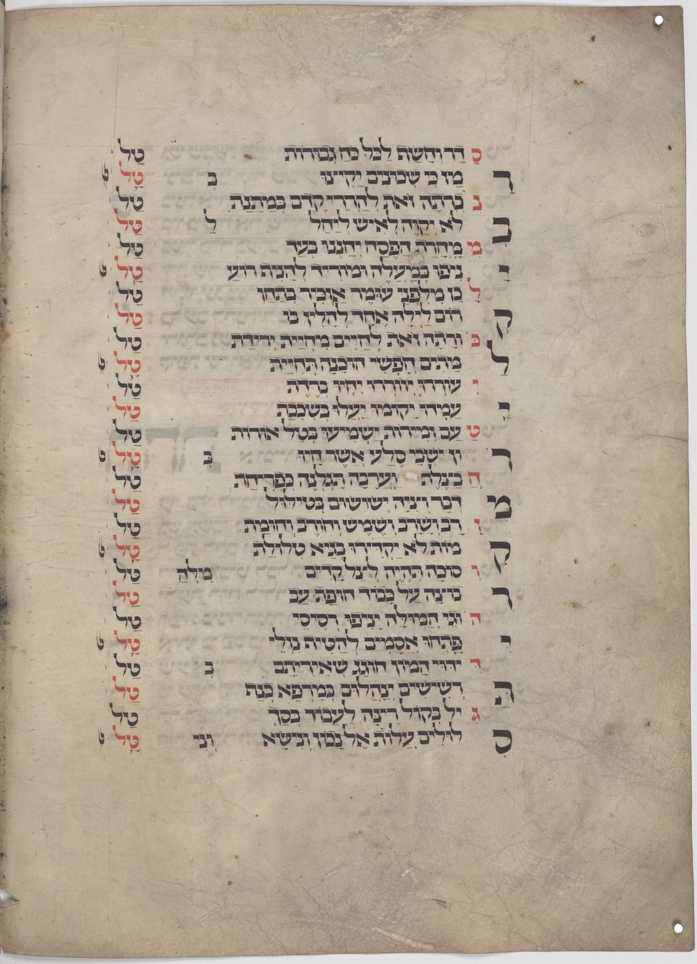 manuscript page from a medieval jewish text