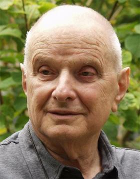 Head shot of an older man.