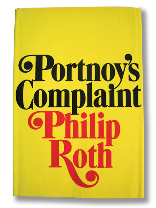 Cover of Portnoy's Complaint by Philip Roth.