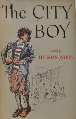 First edition cover of City Boy: The Adventures of Herbie Bookbinder.