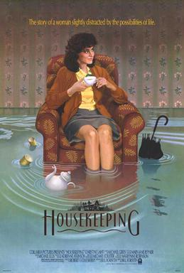 Poster for the 1987 film Housekeeping.