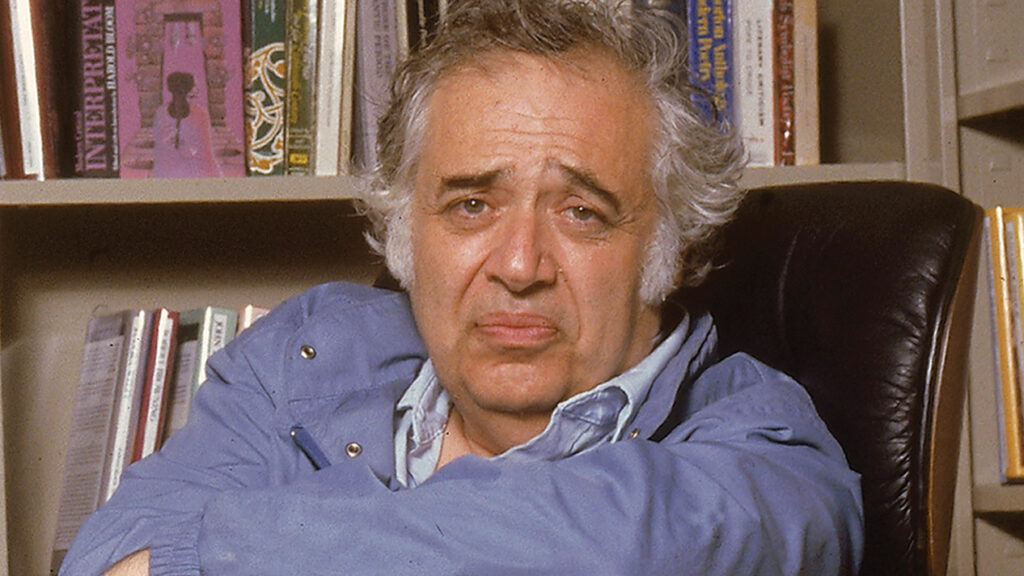 Remembering Harold Bloom