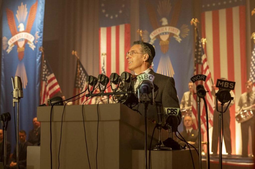 John Turturro plays Rabbi Bengelsdorf in HBO's The Plot Against America.