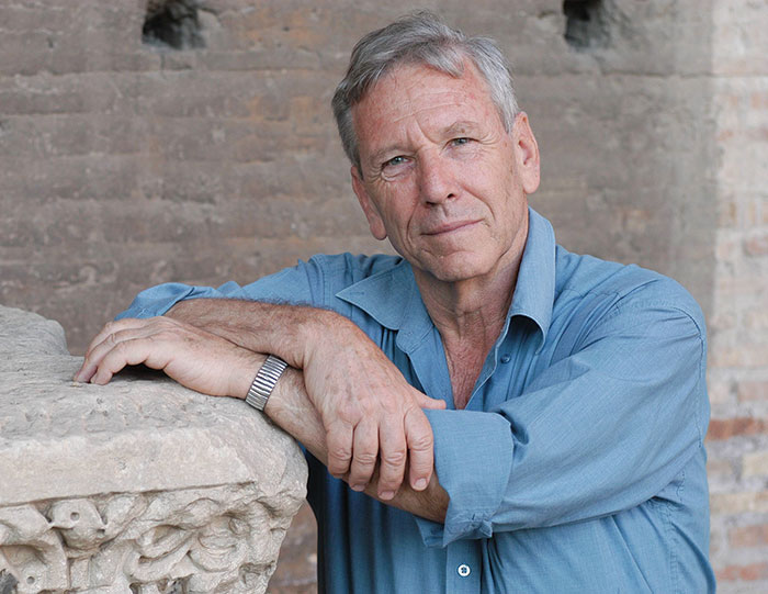 Amos Oz during the Literature International Festival, Rome, June 2005. (Photo by Mondadori via Getty Images.)