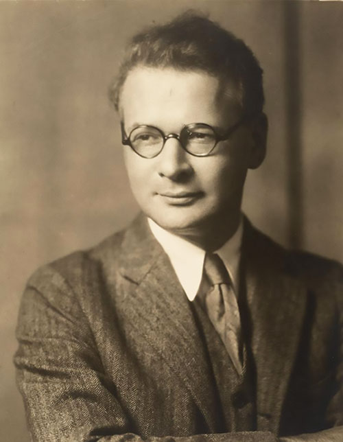 Horace Kallen in an undated photo.